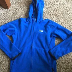 Other - Helly Hansen Men's Blue Fleece Jacket SMALL (ek)